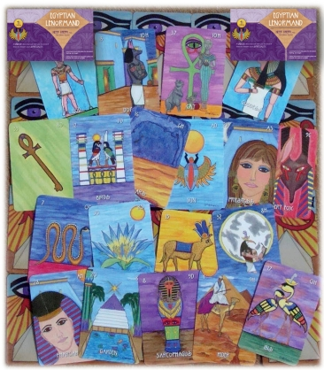 The multi-award-winning Egyptian Lenormand by Nefer Khepri, PhD.