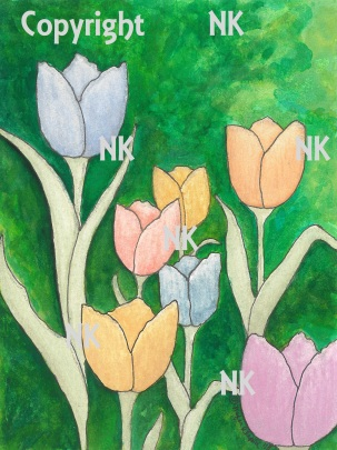 Metallic Tulips 2018 PUB